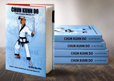 Supreme Master Kim published Chun Kuhn Do: The Complete Wellness Art (Volume 1) in 2002. The book was planned to be the first in a series of 5 volumes which ecompassed Supreme Master Kim's martial arts techniques.