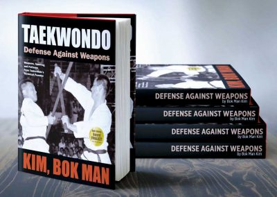 YMAA published Supreme Master Kim's third book, Taekwondo: Defense Against Weapons, in 2012. The book reprints Practical Taekwon-do (1979), which has been out of print for several decades. Defense Against Weapons was selected as a Best Book Award Finalist by USA Books.