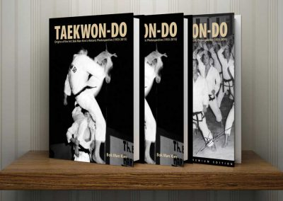 Supreme Master Kim published his fourth book, Taekwon-Do: Origins of the Art: Bok Man Kim's Historic Photospective (1955-2015), in June 2015. The book received the Beverly Hills Book Award and was a finalist for the 2015 USA Best Book Awards, 2016 International Book Awards, and 2016 Shelfie Book Awards. Visit Moosul Publishing for more information.