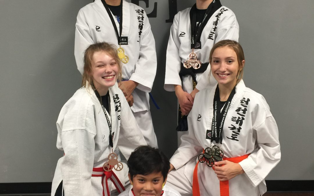 Kansas Chun Kuhn Taekwondo Students Win Medals at UTA Grand Nationals