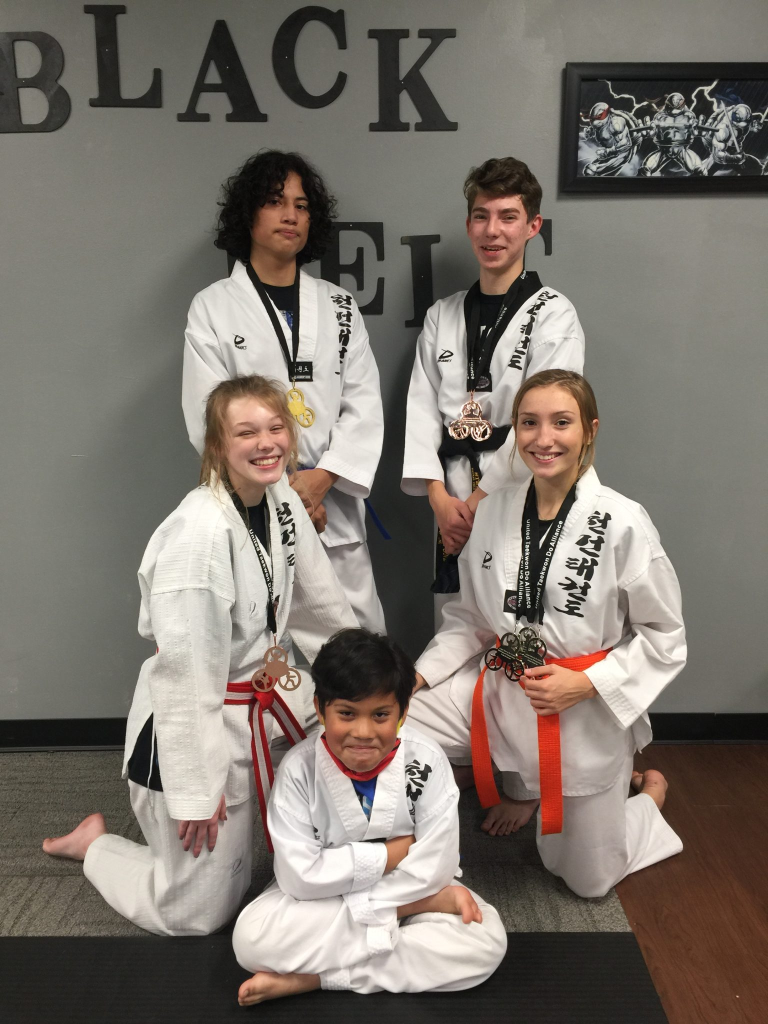 Kansas Chun Kuhn Taekwondo Students win at UTA Grand Nationals