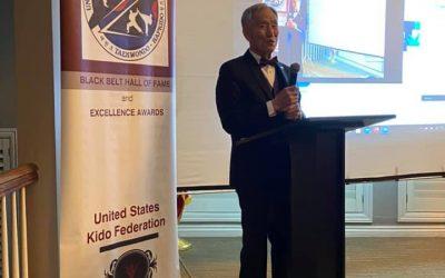 Supreme Master Bok Man Kim Inducted into USKF Black Belt Hall of Fame