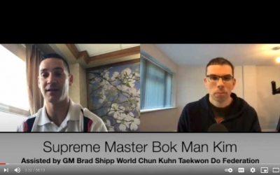 Master Hodson's Black Belt Interviews: Founding Pioneer Supreme Master Bok Man Kim